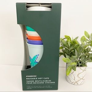 Starbucks Tropical Island Reusable Hot Cups